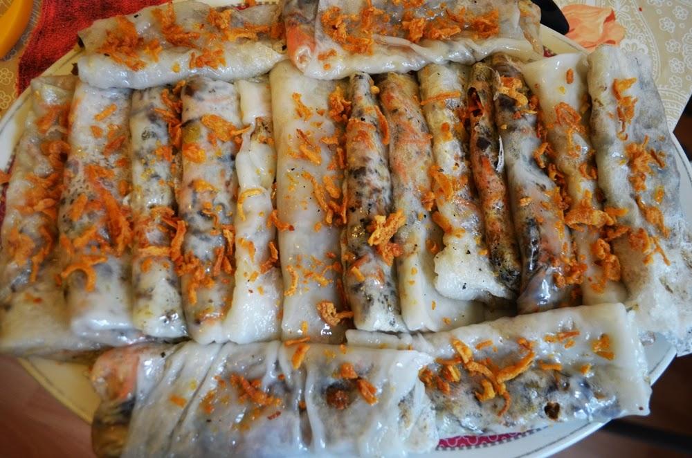 Veganismus: Rezept für Bánh Cuốn.