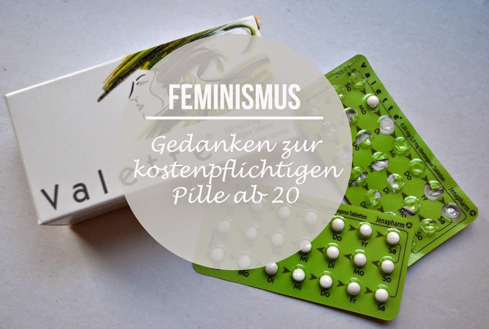 Ein paar Gedanken zur kostenpflichtigen Pille ab 20.