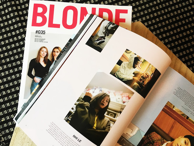Feature: Ich im neuen Blonde Magazine #socialmediaissue