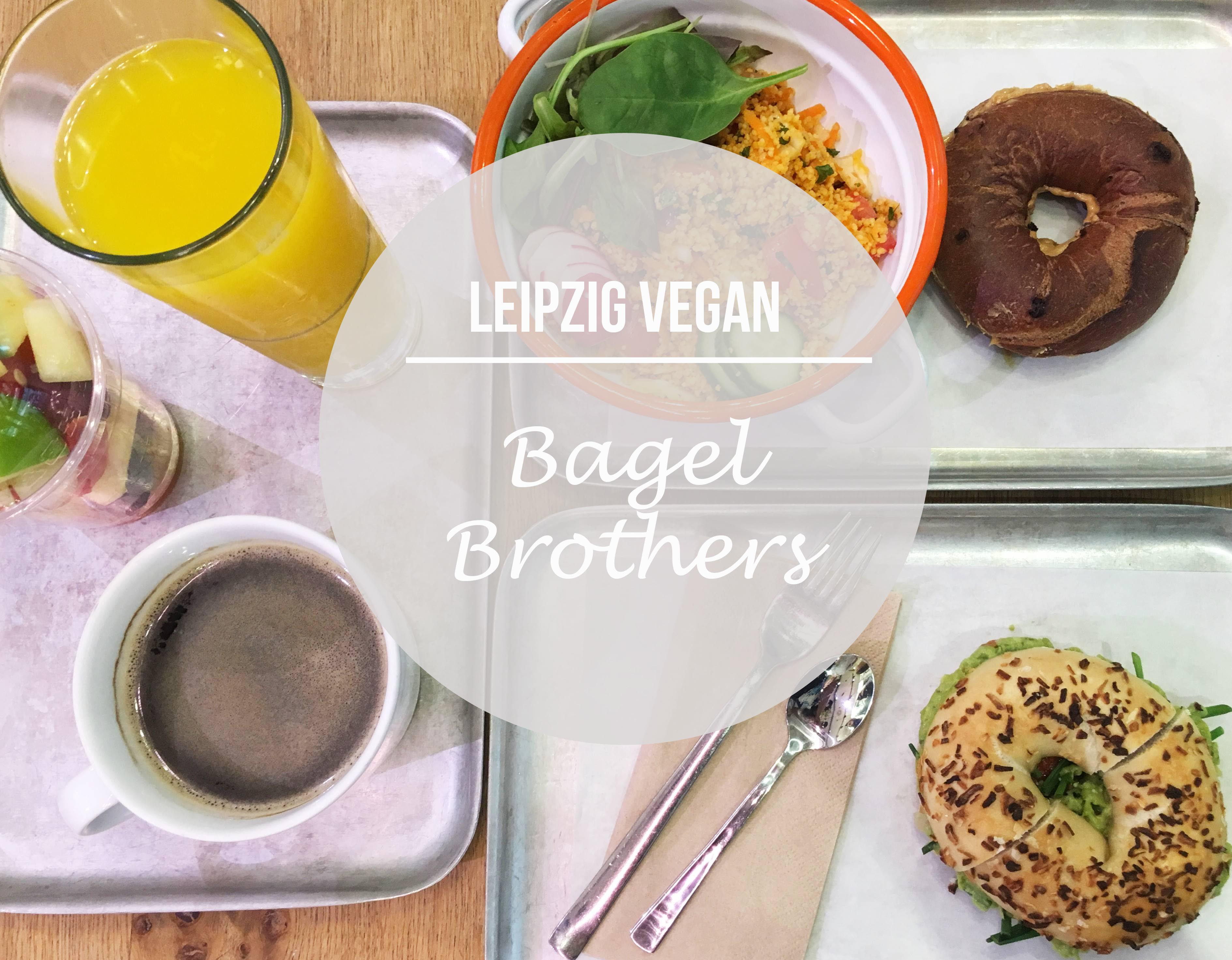 Leipzig Vegan: Bagel Brothers